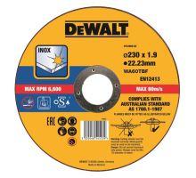 Kotouč řezný na kov a nerez, 230x1,9mm DT43909 DeWalt