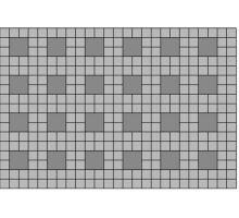 Betonová dlažba Karo 8x20x20 cm Metropol bílá BEST