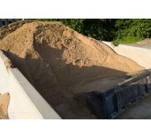 Písek volně ložený tříděný 0-4mm, praný, pro přípravu betonových směsí
