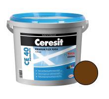 Ceresit Flexibilní spárovací hmota CE 40 Aquastatic 5 kg, chocolate 58
