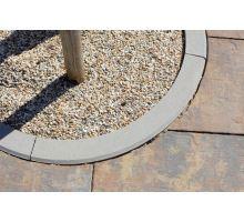 Betonový chodníkový obloukový obrubník Best Linea R0,5 8x25 cm vnější přírodní