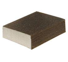 Houba brusná na dřevo, kovy, nátěry, 100x70x25mm, zrn.120, Euronářadí