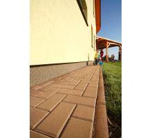 BEST Parkan II Zahradní obrubník 5x20x100cm, karamel