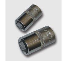 Hlavice nástrčné Gola (ořech) 1/2 40CRV 8mm L38mm Honiton