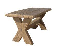 Betonový Stůl I. Diton 180 x 80 x 77 cm dub světlý