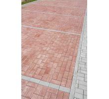 BEST Klasiko Betonová zámková dlažba 8x10x20cm, červená