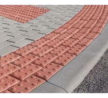 Parketa 6 - slepecká, červená, dlažba, 20x10x6 cm, Diton