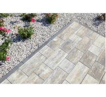 Betonový chodníkový obrubník Best Linea II 8x25x100 cm antracit