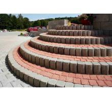 BEST Mozaik Betonová skladebná dlažba (kostka) 6 x 10 x 10 cm červená
