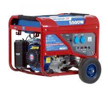 Elektrocentrála benzínová, DEGB6500K, výkon 5,5kW Dedra