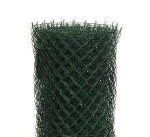 Pletivo poplast. zelené 125 cm 25m s nap. drátem IDEAL 55x55 1,7/2,5mm zapletené