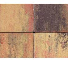 Betonová skladebná dlažba Best Korzo 4 cm colormix etna (skladba 3 kameny)
