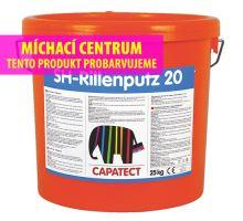 Caparol Capatect SH Rillenputz 20 - silikonová fasádní omítka rýhovaná