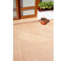 Plošná dlažba, terasová vymývaná, bez laku, 40x40x4 cm, Verdo, BEST