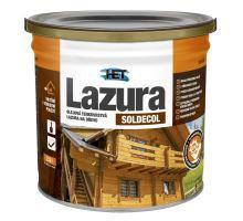 HET Soldecol 2,50 Lt - SL30 OŘECH -Syntetická olejová tenkovrstvá lazura na dřevo (150)