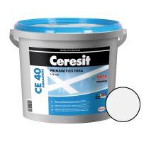 Ceresit Flexibilní spárovací hmota CE 40 Aquastatic 5 kg, bílá 01