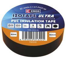 Páska izolační elektrikářská PVC 15mmx10m černá
