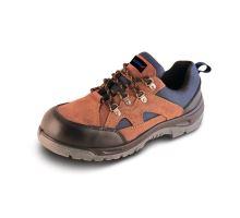 Bezpečnostní obuv nízká Model P2, semiš S1S vel. 40 Dedra