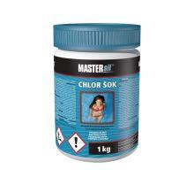 Mastersil Chlor šok 1 kg, pro šokovou, náhlou potřebu úpravy vody