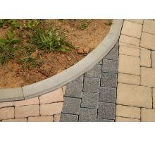 Betonový chodníkový obloukový obrubník Best Linea R1 8x25 cm vnější přírodní