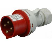 Vidlice na kabel 4x16A 400V/16A čtyřpólová IP44 SEZ IVN 1643