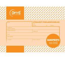 Tiskopis Výdajový pokladní doklad NCR propisovací