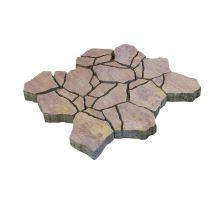 Betonová skladebná dlažba Diton Stone 8 cm bronzero (skladba 12 kamenů)