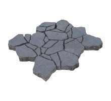 Betonová skladebná dlažba Diton Stone 8 cm antracit (skladba 12 kamenů)