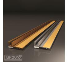 Lišta okenní začišťovací hnědá - APU lišta, š.6mm, d.2,4m