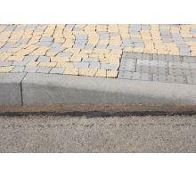 Betonový silniční obrubník Best Mono přechodový levý 25 - 15 x 15 x 100 cm přírodní