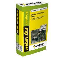 weber.dur podhoz, 6MPa, 25kg - podhoz pod jádrové omítky, pro interiér/exteriér, zrno 4mm