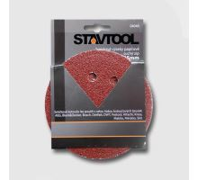 Brusný výsek (kruh 125mm) suchý zip, zrn.120 - 8 otvorů  (6ks/bal), Stavtool