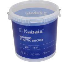 Vědro 20l plastové (kbelík) s víkem a stupnicí Kubala