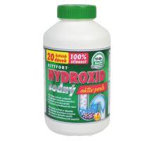 Hydroxid sodný louh, 1000g, čištění odpadů