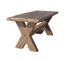 Betonový Stůl I. Diton 180 x 80 x 77 cm dub tmavý
