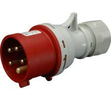 Vidlice na kabel 5x16A 400V/16A pětipólová IP44 SEZ IVN 1653