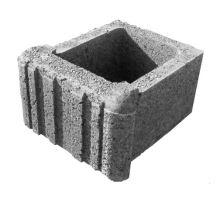 Ještědský kámen, svahovka, 19x31x33 cm, šedá, Semmelrock