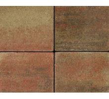 Betonová skladebná dlažba Best Korzo 4 cm colormix podzim (skladba 3 kameny)