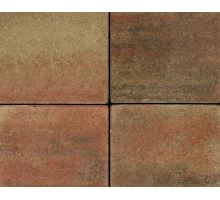 Betonová skladebná dlažba Best Korzo 6 cm colormix podzim (skladba 3 kameny)