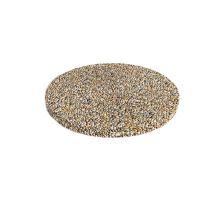 Betonový nášlapný kámen Diton Nášlap kruhový vymývaný 40 x 5 cm Dunaj 10-16 mm