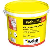 weber.fix plus D2TE, 8 kg - disperzní lepidlo na obklady a dlažbu