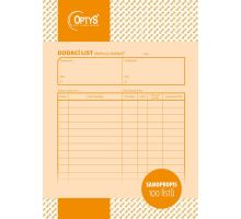 Tiskopis Dodací list - Daňový doklad A5 NCR, propisovací