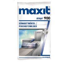 Maxit mur 900, 25kg, 10MPa - tenkovrstvá malta pro přesně zdění, tl. vrstvy 1-3mm