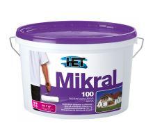 HET MIKRAL100, bílá fasádní vysoce propustná barva, 15+3kg