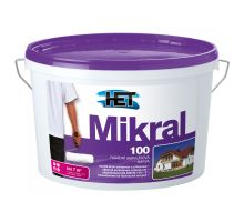 HET MIKRAL100, bílá fasádní vysoce propustná barva, 7kg