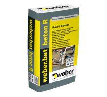 weber.bat beton R hrubý 35 MPa, 25 kg - rychlá cementová betonová směs pro tl. vrstvy 40-150mm, zrno 0-10mm