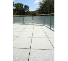 Plošná dlažba, terasová tryskaná, bez laku, 40x40x4 cm, Tokaro, BEST