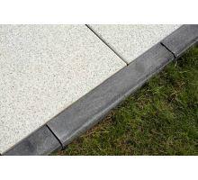 Betonový chodníkový obrubník Best Linea I 8x25x50 cm antracit