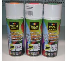 Barva ve spreji Efekt Fluo univerzální 400 ml oranžová