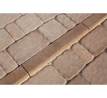 Betonový chodníkový obrubník Best Linea I 8x25x50 cm karamel